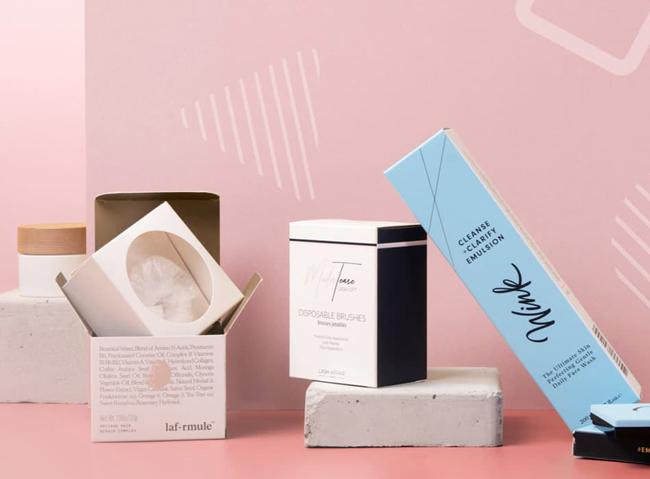 Các tiêu chí khi in hộp giấy đựng mỹ phẩm bao gồm màu sắc trang nhã nhẹ nhàng