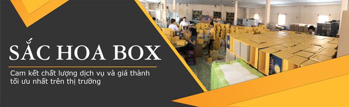 Xưởng sản xuất hộp giấy Sắc Hoa Box cam kết uy tín chất lượng