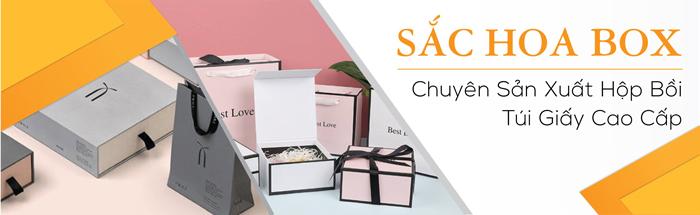 Công ty sản xuất hộp giấy Sắc Hoa Box uy tín chất lượng hàng đầu