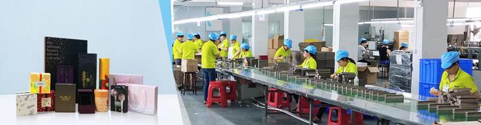 Công ty sản xuất hộp giấy Sắc Hoa Box với đội ngũ nhân viên chuyên nghiệp