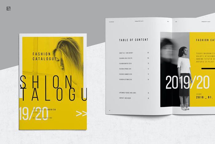 Mẫu bìa catalogue 8