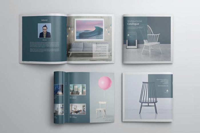 Thông qua bìa catalogue thể hiện tính chuyên nghiệp của doanh nghiệp