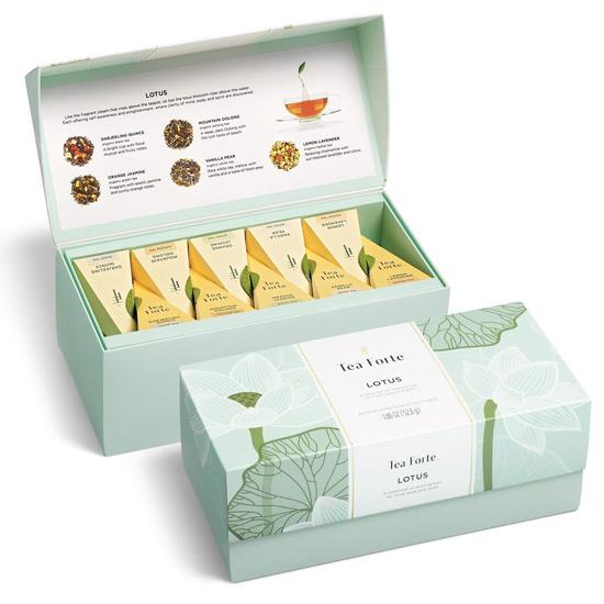 in hộp cứng trà lotus