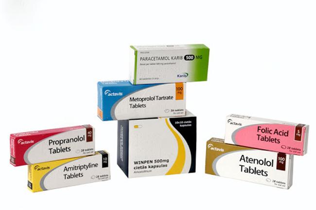 Tổng hợp vài mẫu thiết kế vỏ hộp thuốc 4
