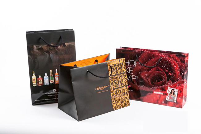Vài mẫu túi giấy Dịch vụ in túi giấy Sắc Hoa Box 8