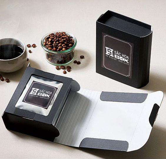 hộp cứng cà phê cao cấp